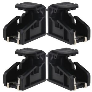 4x Headlight Bracket Clip Compatible with Volkswagen Polo 2009-2018 6R0941511