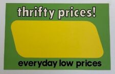 Bogo Thrifty Price Display Sale Price Signs 11 X 7 100 Pc Edlp Grocery Store