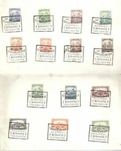 Hungary 1922 Souvenir card Stamp Day used