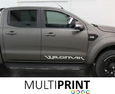 2 x  FORD RANGER RAPTOR WILDTRAK TRUCK CAR VINYL STICKERS / DECALS GRAPHICS RAN2