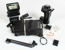 FLASH UNIT W/ POWER PACK, STRAP, GRIP, SYNC CORD, BRACKET   FLASH FILTER