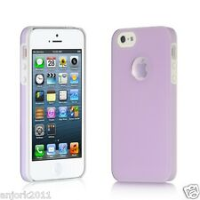 Apple iPhone 5 Back Cover w/ Open Magnifying Logo Ring Case Lucid Lavender