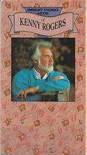 great video hits of kenny rogers (vhs 1990)
