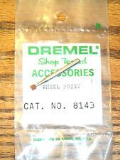 "NEW! DREMEL 1/8"" X 1/8"" ABRASIVE GRINDING WHEEL POINT #8143 for ROTARY TOOL"