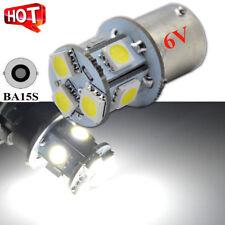 10x AC 6V 1156 ba15s LED 5050 8SMD White Car Bulb Light Brake/Turn/Tail /Reverse