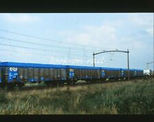 N1229 - Dia slide 35mm original Eisenbahn Holland, NS Güterwagen, '80s