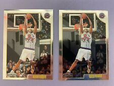 (2) 1998-99 Topps Chrome #199 Vince Carter RC Lot x2 Investment