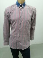 Camicia TOMMY HILFIGER Uomo Taglia Size XL Shirt Man Chemise Homme Cotone 7816