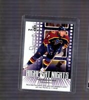 2002-03 Upper Deck MVP Highlight Nights #HN1 Ilya Kovalchuk Atlanta Thrashers