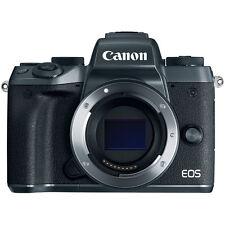 Canon EOS M5 Mirrorless Digital Camera - Black (Body Only)
