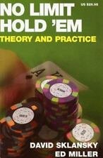 No Limit Hold 'em: Theory and Practice, David Sklansky, Ed Miller, Acceptable Bo