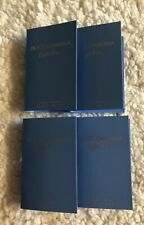4x Dolce & Gabbana Light Blue Women Sample Vial -1.5ml Each
