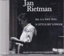 Jan Rietman-A Little Bit Longer promo cd single