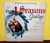 FRANKIE VALLI/THE FOUR SEASONS VEE JAY STEREO VINYL LP  4 SEASONS GREETINGS 1963