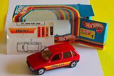 Fiat Uno prodotto da Hot Weells anni 80 sc 1:43 fondo di magazzino, vedi foto