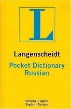 Langenscheidt's Pocket Russian Dictionary: Russian-English/English-Russian Lang