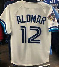 Toronto Blue Jays Mitchell Ness Роберто Аломар подлинных MLB белый 1992 Джерси