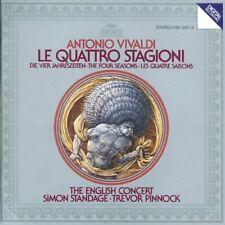 Vivaldi: The Four Seasons By Antonio Vivaldi,Trevor Pinnock,English Concert.