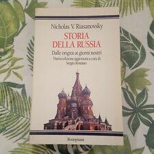 """Nicholas Riasanovsky,""""Storia della Russia"""",Bompiani"""