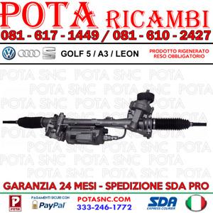 SCATOLA GUIDA - STERZO ELETTROMECCANICA SERVOSTERZO VW GOLF 5 / TOURAN / AUDI A3