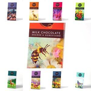 Guppys Handmade Ethical Chocolate Bars - Sugar Free, Milk, Dark, Vegan etc