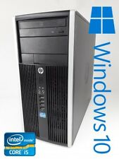 HP ÉLITE 8300 MT Intel Core i-5-3570 4x3.40GHz 4gb RAM 320GB HDD DVD WIN10 PRO