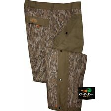DRAKE WATERFOWL NON-TYPICAL STORM PANTS SHERPA FLEECE LINED BOTTOMLAND CAMO 2XL