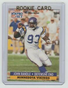 JOHN RANDLE Vikings 1991 Pro Set #835 SP RC Hall of Fame ONLY ROOKIE CARD Sweet