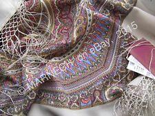 1290-2 Magic design Elite Dress Wrap Scarf Pure Merino Wool shawl Pavlovo Posad