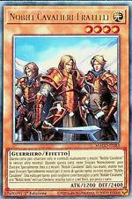 YU-GI-OH! MAGO-IT083  Nobili Cavalieri Fratelli  rara 1°edizione ita yugioh