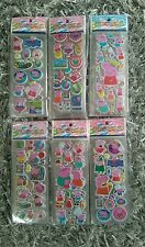 10 x peppa pig Stickers Party Bag Fillers Birthday party favours, games
