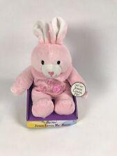 3 Dan Dee Singing Jesus Loves Me Blue Bunny Rabbit Boxes SHOPWORN Old Stock