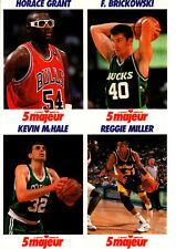 1992 5 Majeur Cards Uncut # NNO Grant-Brickowski-Mc Hale-Miller
