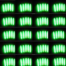 100PCS Chemical Lights Fishing Fluorescent Dark Glow Sticks 4.5*37mm