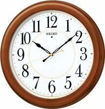 SEIKO CLOCK KX388B Wood Frame Standard Analog Wall Clock F/S w/Tracking# Japan