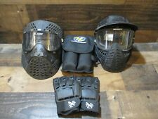 Lot of paintball accessories googles gloves pods brass eagle viewloaders nr