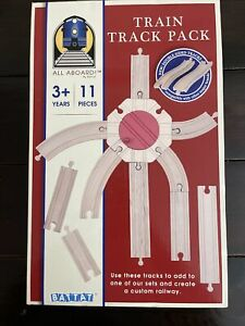 Wooden Train Track Pack - Double Sided Tracks 11 Pieces- Brand New