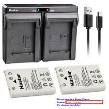 Kastar Dual Charger Battery for Nikon EN-EL5 MH-61 & Nikon Coolpix P100 Camera