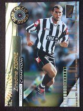 ZIDANE SOCCER CARD-FRANCE*CAMPIONI INSERT *Real Madrid *Juventus*2001
