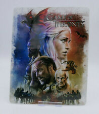GAME OF THRONES - Glossy Bluray Steelbook Magnet Cover (NOT LENTICULAR)