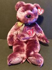 "TY Beanie Buddies 1999  the 2000 Signature Bear 14"" tall w/ tag"