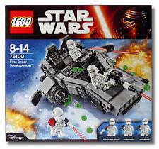 Lego ® Star Wars ™ 75100 first order snowspeeder ™ Collectors 2015 nuevo/en el embalaje original!
