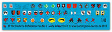 1/48 Decals Squadron Coat of Arms of the German Luftwaffe No 3 762