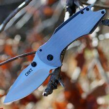 Couteau CRKT Largo Framelock A/O Lame Acier 5Cr15MoV Manche 2Cr13 Clip CR5360