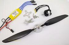 KGPM116- 1 set BL Motor,30A ESC & Folding Prop.(11x 6)for mini RC Powered Glider