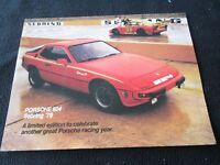 1979 Porsche 924 Sebring '79 Special Edition Brochure 924 Pace Car Sales Catalog