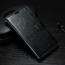 Etui type portefeuille noir Xperia X avec rabat latéral articulé fonction
