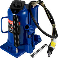 Air Hydraulic Bottle Jack 20 Ton Manual Heavy Duty Auto Truck SUV 4WD ​RV Repair