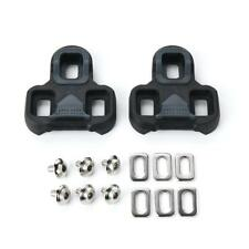 Anti Slip Look Keo Compatible Pedal Road Cleats Black 4.5 Degree Float Accessory