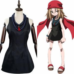 Shaman King The Super Star - Kyoyama Anna Cosplay Costume Halloween Suit